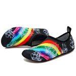 VIFUUR Chaussures de Sport Nautique Pieds Nus à séchage Rapide Aqua Yoga Chaussettes Slip-on pour Hommes Femmes Enfants de la marque VIFUUR image 2 produit