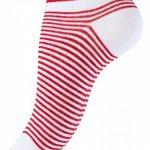 Vincent Creation Lot de 8 paires de socquettes pour femme - chaussettes avec des rayures et des points, Design Maritime - femme de la marque Vincent-Creation image 2 produit
