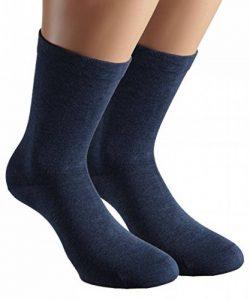 Vitasox Chaussettes homme extra-larges en coton, chaussettes médicales sensibles sans élastique sans couture 6 ou 8 paires de la marque Vitasox image 0 produit