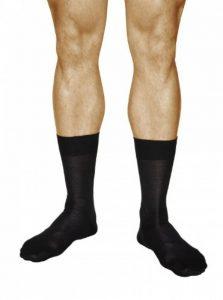 vitsocks Chaussettes de Ville Homme 100% COTON MERCERISÉ (Lot de 3) Fines Habillées Classiques de la marque vitsocks image 0 produit