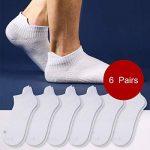 Weekend Peninsula Lot de 6 paires de Socquettes Invisibles Homme Femme Chaussettes Basses Courtes de Sport Homme et Femme en Coton de la marque Weekend+Peninsula image 1 produit