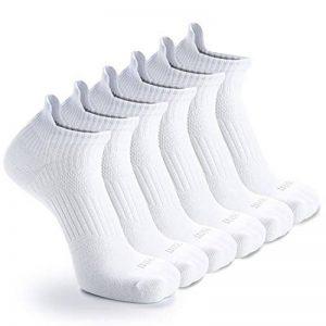 Weekend Peninsula Lot de 6 paires de Socquettes Invisibles Homme Femme Chaussettes Basses Courtes de Sport Homme et Femme en Coton de la marque Weekend+Peninsula image 0 produit