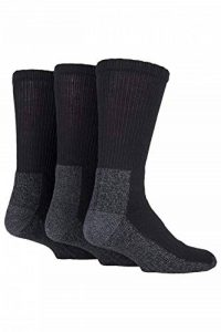 Work Force - 3 paires homme noir chaussettes de travail en deux tailles WFH0090 de la marque Workforce image 0 produit