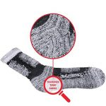 YUEDGE 5 Paires Homme Chaussettes de Randonnée pour Trekking Camping Cyclisme Tennis, Respirantes de la marque YUEDGE image 2 produit